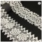 High quality cheap decorative polyester/cotton crochet lace trim embroidery lace for garment