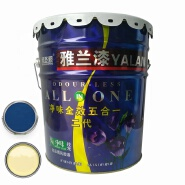 High quality bamboo odorless interior wall paint