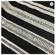 High quality decoration crochet lace trimming border guipure bridal lace trim