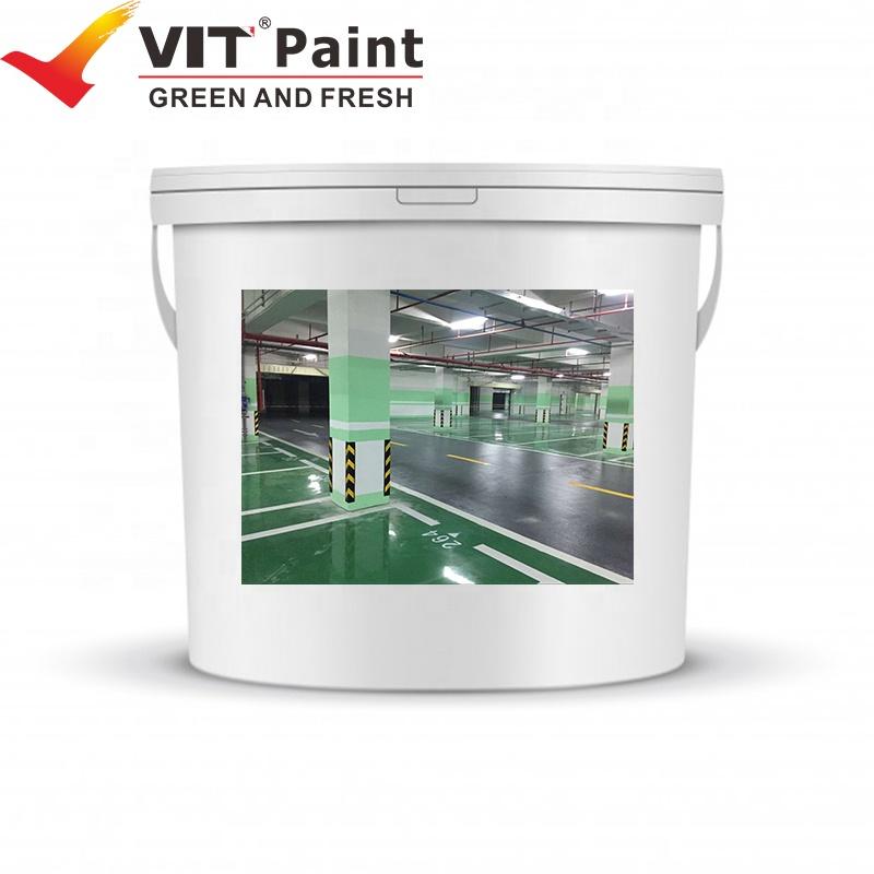 WGM-9565A VIT Garage and parking floor epoxy top coat paint