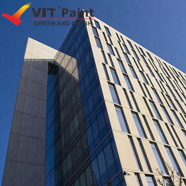 VIT PTFE resin outdoor fluorocarbon metal work protection spray anti rust metal paint