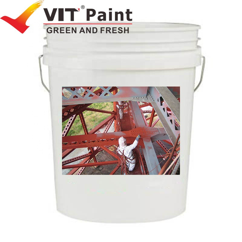 VIT WGM-9933 Factory high quality Epoxy resin mica iron oxide main material metal rust proof paint