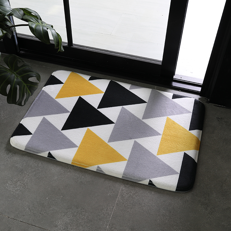 (CHAKME) 50*80cm Modern style custom cheap commercial machine washable door mat