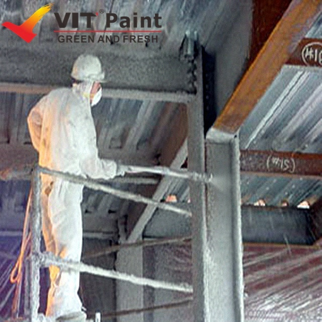 VIT Fire retardant steel structure fire resistance coating paint