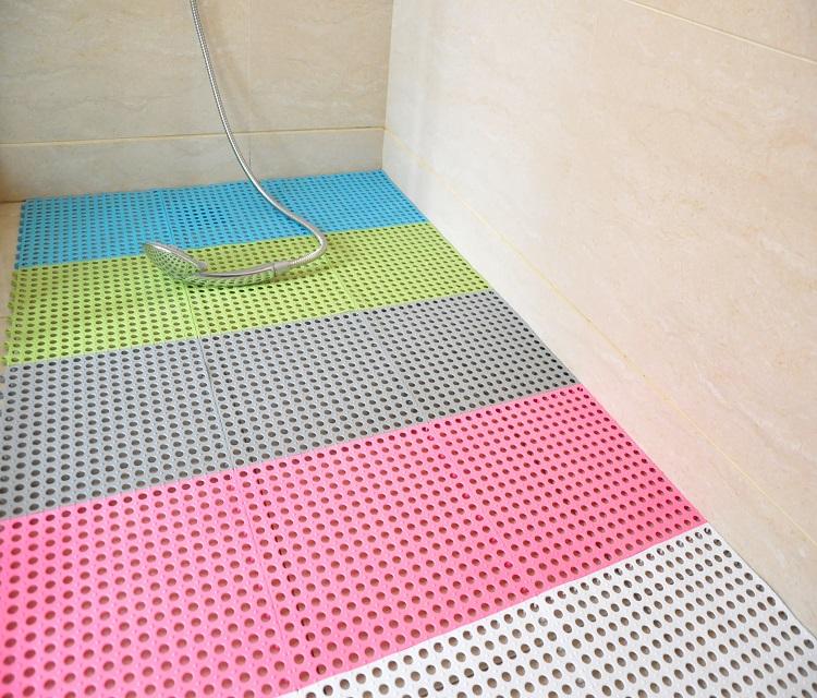 (CHAKME) Anti-slip Waterproof Interlocking PVC Floor Mat For Bath And Swimming