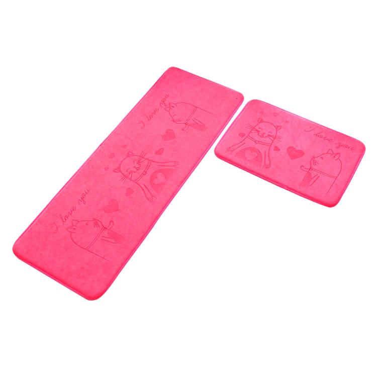 (CHAKME) Super Soft Shaggy Non Slip Washable Microfiber Carpet For Bath