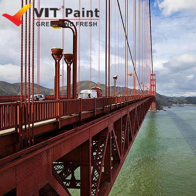 VIT PTFE resin fluorocarbon industrial steel building protective paints