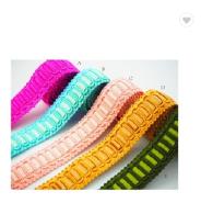 High quality decoration crochet lace trimming border guipure lace trim