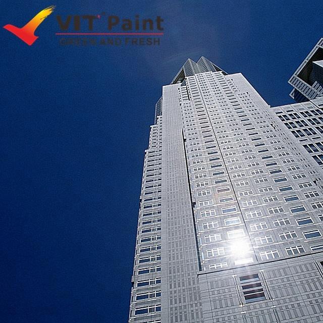 VIT PTFE tetrafluoroethylene fluorocarbon weather resistant steel metal work protective anti UV sealing metallic paint