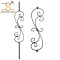 High Quality S scroll Iron Baluster Iron Stair Spindles