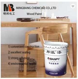 Scratch resistant wood top coat finish paint