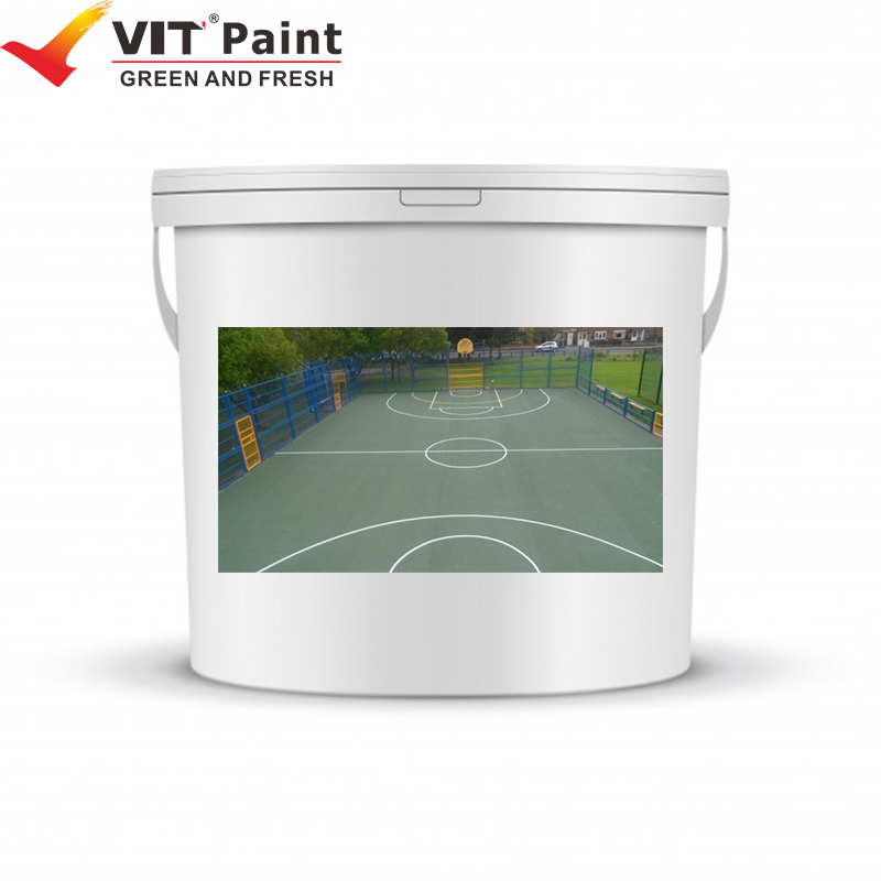 WAM-9212 VIT Commercial industrial acrylic outdoor flooring paint