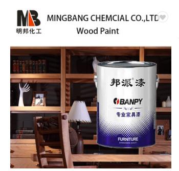 Color wood clear top coat varnish