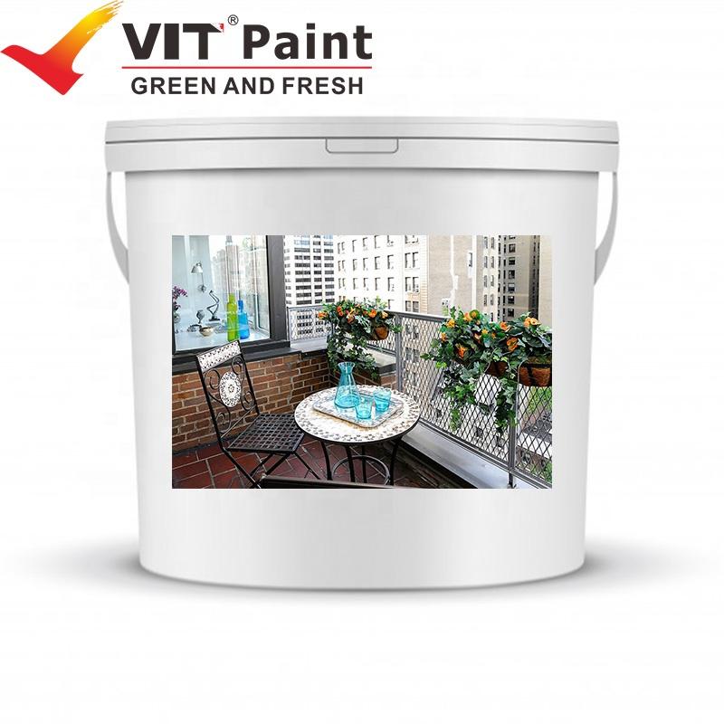VIT-178 Spray Application Method and Liquid Coating State roof water resistance paint ceramic waterproof paint