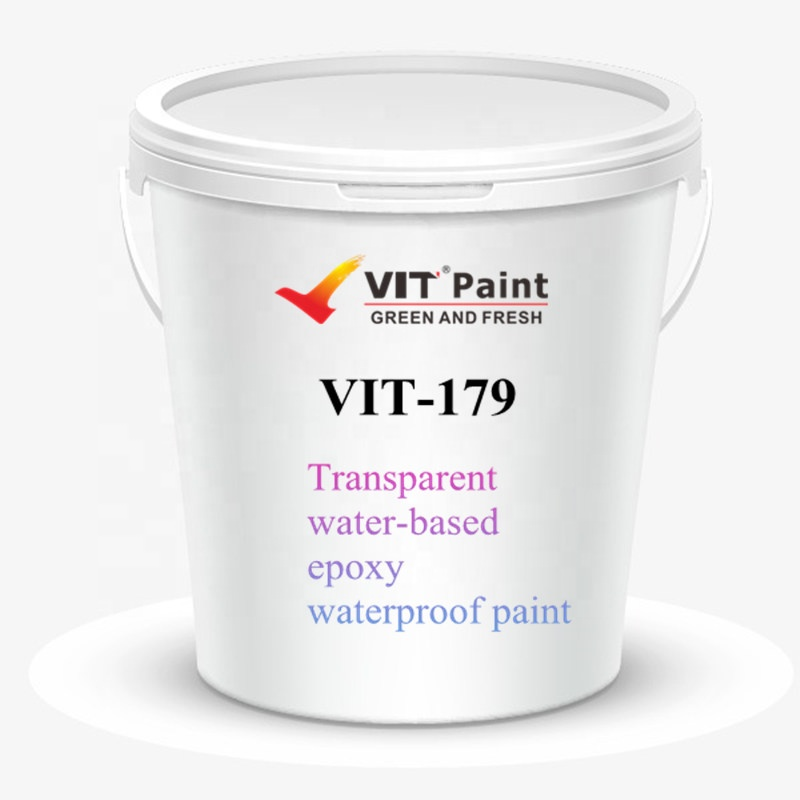 VIT crystal clear epoxy resin good waterproof paint for interior wall and exterior wall