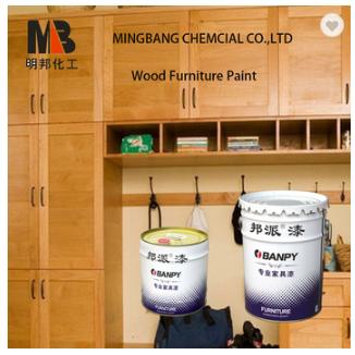 PU lacquer wood furniture polish