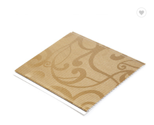 Wholesale PVC Eco Friendly Wood Pattern Decorative Ceiling Panels
