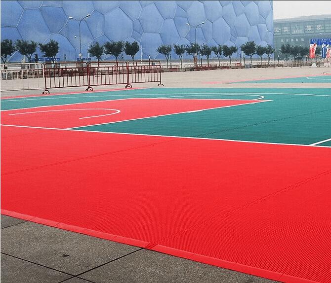 Outdoor sports floor / Rubber Flooring 2