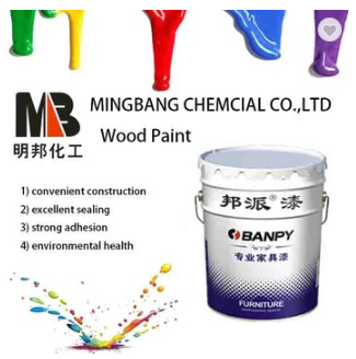White lacquer paint for wood desk