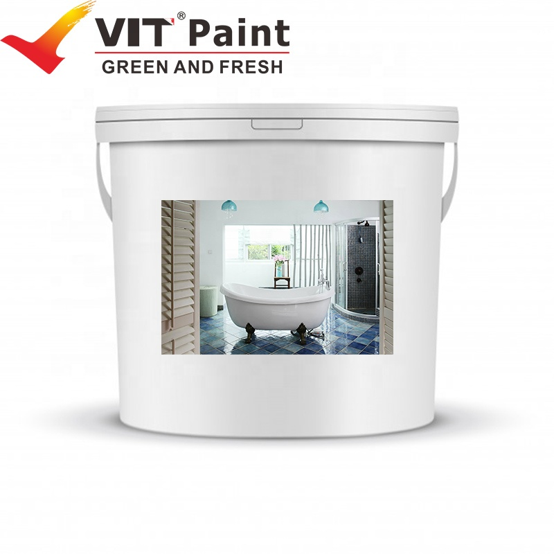 VIT-178 Brush and spay Application Method and Transparent Liquid Coating State roof and wall waterproof coating