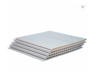Commercial Bathroom Clear PVC False Plastic Ceiling Panel