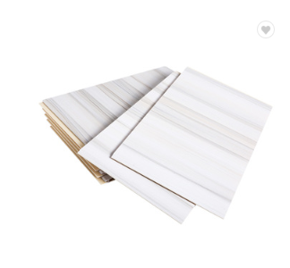2019 Waterproof And Fireproof Wood Design Laminated PVC Panel Ceiling