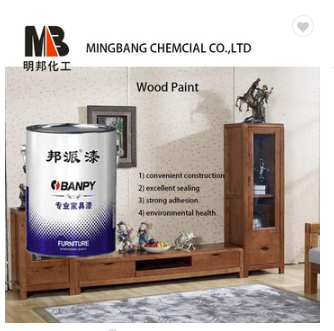 Odorless pu wood paint for wood furniture