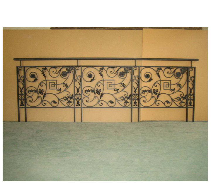 Factory Price Indoor Porch Decorative Wrought Iron Railings Modern