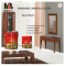 PU clear top coat paint finish for wood