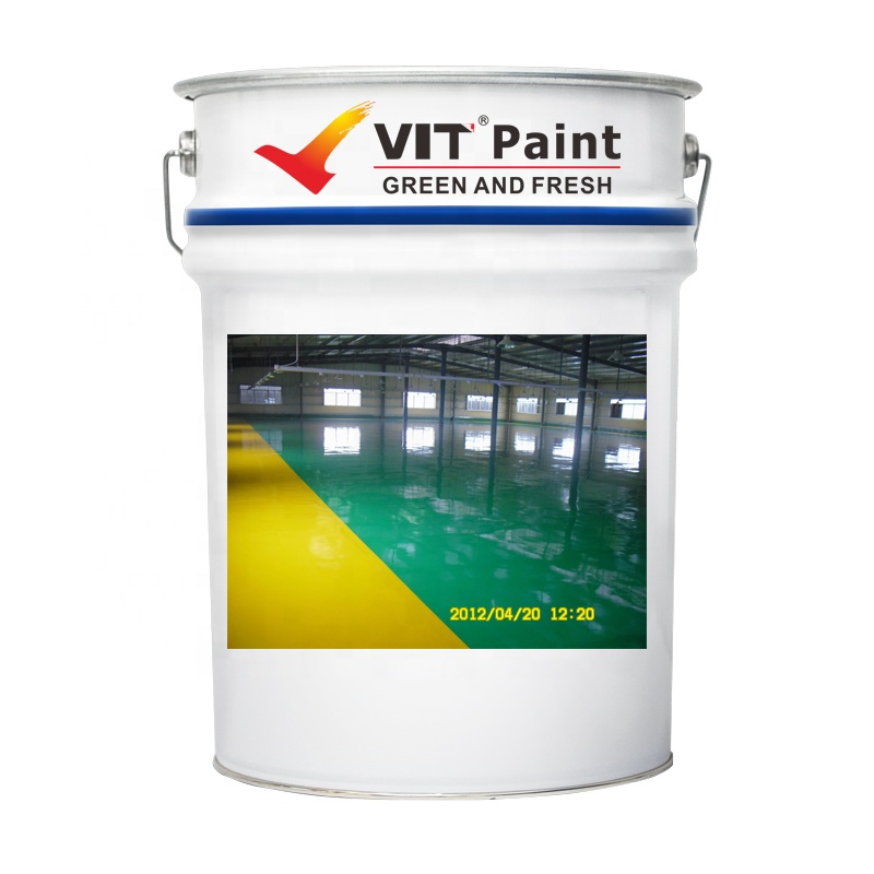 WGM-9562 VIT Heavy duty crystal clear epoxy resin coating with best price (water resistance scratch resistance anti-dust)