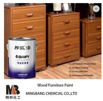 PU lacquer polish on wood