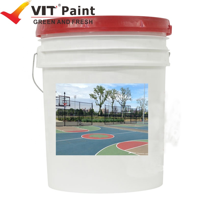 WAM-9212 VIT Acrylic Main Raw Material and Brush Application Method Best selling self-leveling floor paint