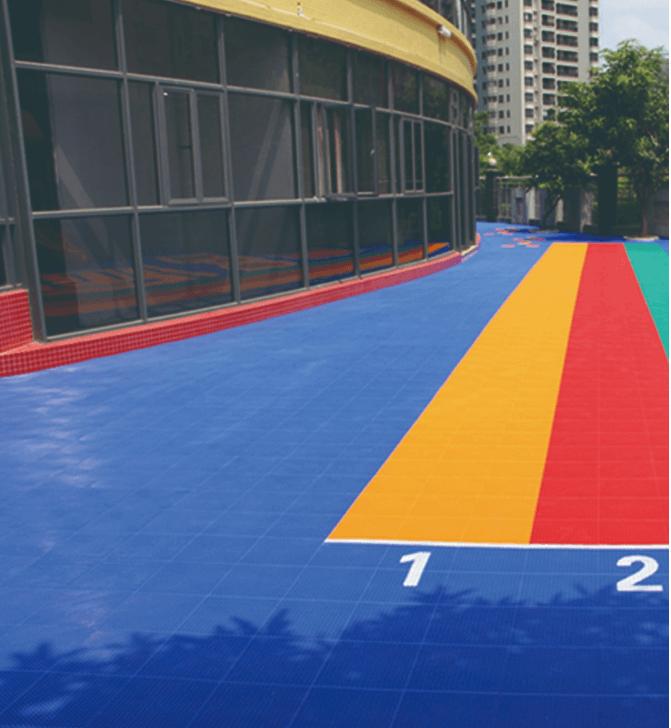 Outdoor sports floor / Rubber Flooring 3