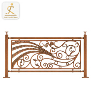 private house villa indoor decorative stainless staircase handrails decking metal balustrade inox cheap deck railing