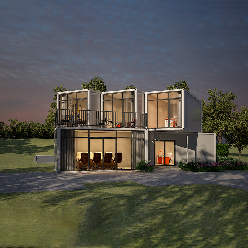 Latest Office use Flat Pack Container House Customization
