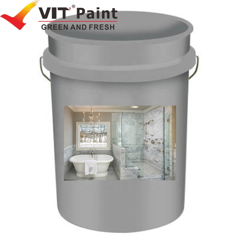 VIT-178 Brush Application Method and Liquid Coating State roof water resistance paint
