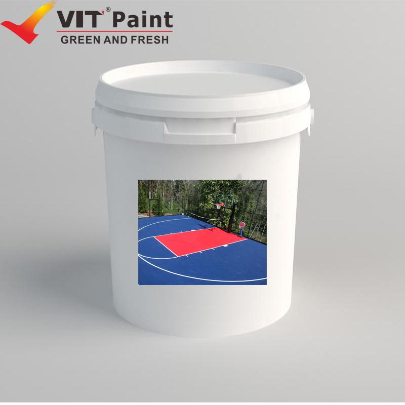 WAM-9212 VIT Acrylic Main Raw Material and Brush Application Method acrylic Floor Paint