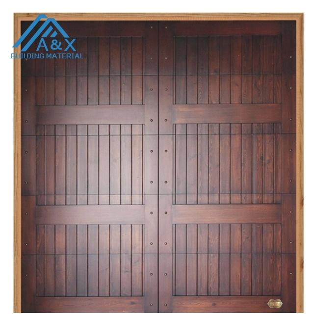 Solid Wood Garage Door