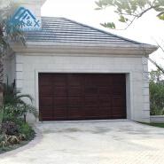 Nice Solid Wood Garage Door for Villa