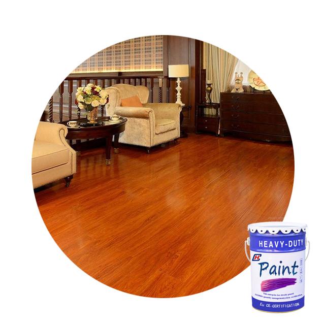 Water based wood floor painting support custom color furniture wood coating