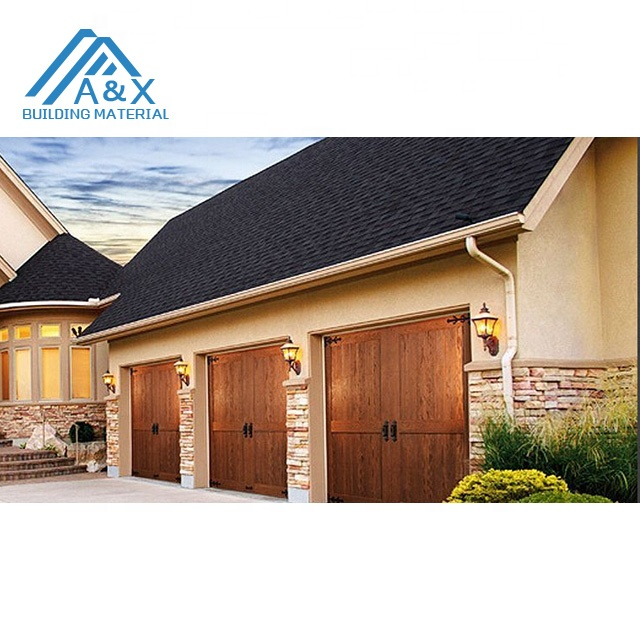 Nice European style Solid Wood Garage Door