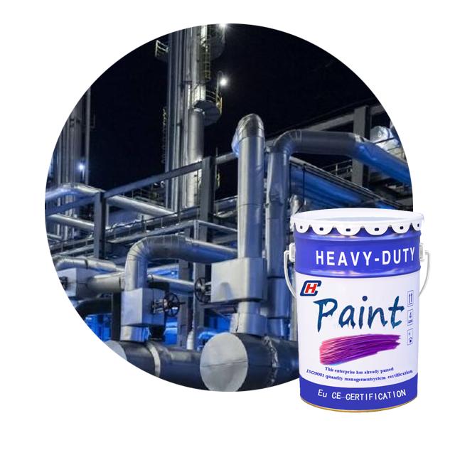 Factory weatherability epoxy modified vinyl ester acid and alkali proofing anticorrosive coatings