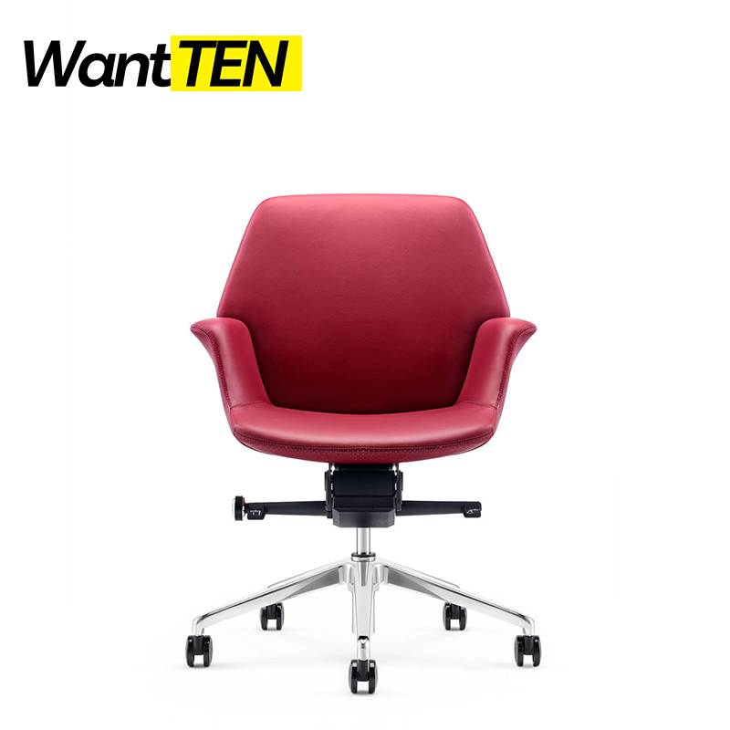 Italian High-Fashion Design Superlative Craft Office Task Chairs In Rose Color For Unparalleled Office Space B1925
