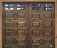 New Design Solid Wood Garage Door
