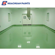Environment-friendly solvent-free epoxy floor self-leveling topcoats
