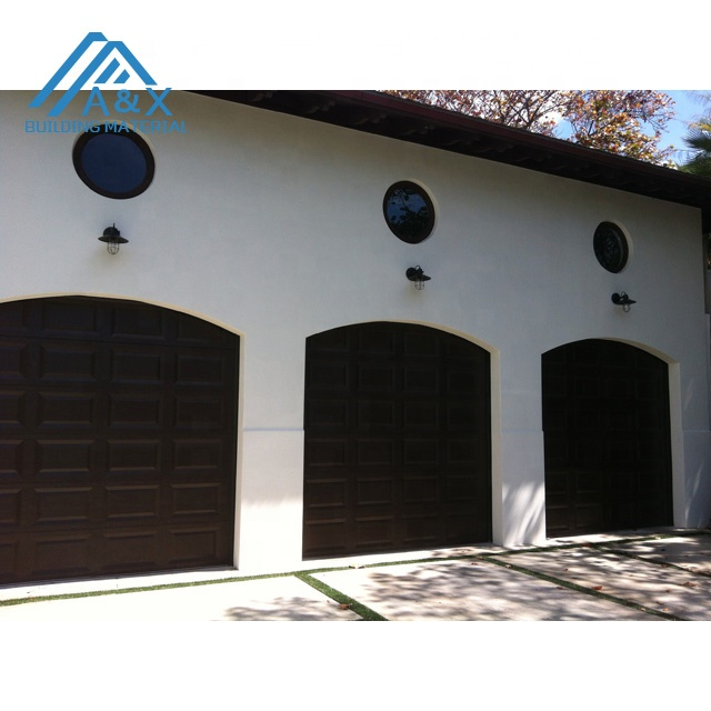 Arch top Solid Wood Garage Door