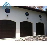 Arch top Solid Wood Garage Door
