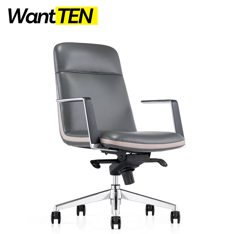 Factory Direct Supply Comfort Seating Mid-back Chair Office Swivel Tilt Seat Height Adjustable B1804