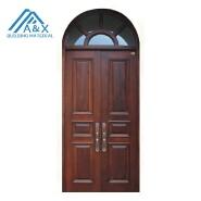 Top Arch Spanish Style Wood Door