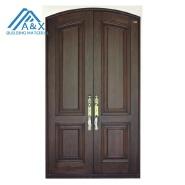 New design solid wood entrance doors